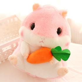 可爱情侣胖仓鼠公仔 日本豚鼠毛绒玩具布娃娃玩偶