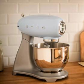 【官方国行 售后保证】意大利 SMEG 复古静音厨师机 料理机 搅拌机 和面机