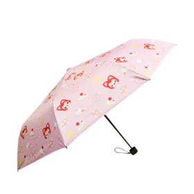 阿狸甜蜜时光黑胶晴雨伞