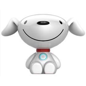 【开学季活动】小胜儿童智能机器人早教语音对话聊天声控音乐故事机远程互动陪伴玩具机器狗 白色机器人