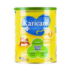【保税仓】新西兰Karicare可瑞康婴儿羊奶粉1段 0-6个月 900g