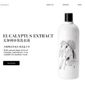 H.S MAKE 尤加利环保洗衣液 Eucalyptus Essence Laundry Detergent  1L