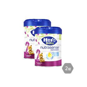 2罐装  荷兰Hero Baby白金版奶粉2段罐装800g 保税区直发