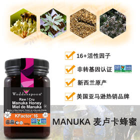 Manuka 麦卢卡蜂蜜 16+  500克