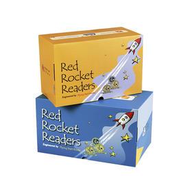 盖世独家:Red Rocket Readers--红火箭分级阅读系列(共318本+1本字母导读)+配套在线课程【支持盖世点读笔点读】