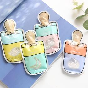 创意小清新夏季异形冰袋 旅行户外便携冰袋 文具