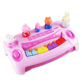 正版小猪佩奇授权佩奇乔治欢乐电子琴