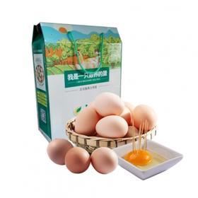 【安全配送】产地直达丨品质保证丨散养新鲜土鸡蛋60枚/盒