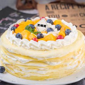 千层蝶恋 | 可丽饼精美千层蛋糕