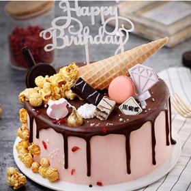 蜜语 | 巧克力淋面蛋糕
