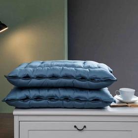 【枕芯】简约舒适 贡缎可水洗弹簧枕 - 缔歌纺织