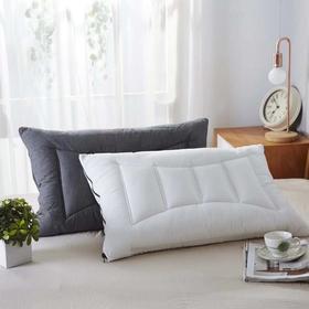 【枕芯】简约舒适 新品水洗棉弹簧枕 - 缔歌纺织