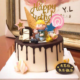 小王子 | 巧克力淋面蛋糕
