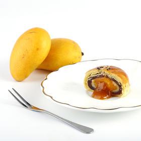 【爆浆流心酥 好吃到爆炸】 椰子芒果巧克力蛋黄4种口味 超值2盒装x300g