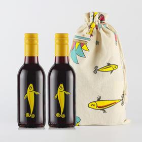 澳洲小黄鱼红酒 【原装澳洲进口 大师的匠心之作 醇香浓厚 回味无穷 好喝不酸涩 是女人的红颜知己】
