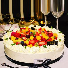 青春派对 | 多水果女生最爱鲜果生日蛋糕