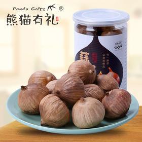 熊猫有礼 云南独头紫皮发酵黑大蒜2罐装,250g罐*2罐