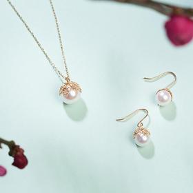 悦甄Akoya珍珠樱花系列 | 30年珠宝老匠人手作,樱花与珍珠的浪漫,细致动人,雅而不俗