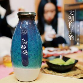 太湖梅子酒 新品雨花瓶内装整颗太湖青梅甜而不涩清爽入心江南及食