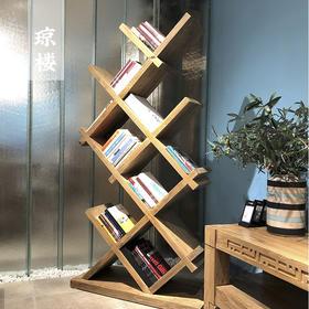 家居故事 | 书房实木书架