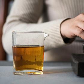 三角公道杯耐热玻璃日式均杯分茶器小号实用家用功夫茶具配件