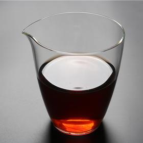 无由玻璃公道杯公杯功夫茶具日式分茶器匀杯耐热玻璃茶器