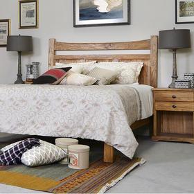 家居故事 | 双人床带床头柜