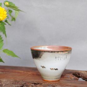 精品柴烧手绘品茗杯