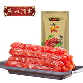 广州酒家 顺心腊肠 金装袋装广式腊味肥瘦28比例475g/袋
