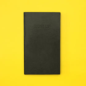 趁早主题手册 遗愿清单手册 BUCKET LIST
