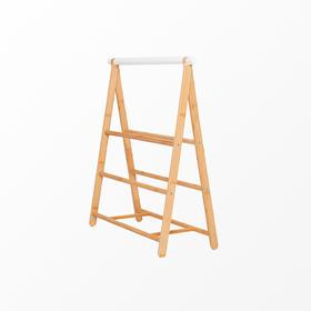 橙舍丨多功能提意鞋架