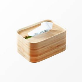 橙舍丨原竹•纸巾盒