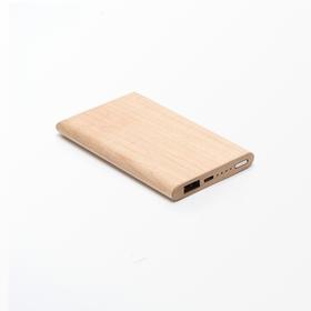 本来设计丨原木移动电源