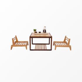 橙舍丨禅桌禅凳组合装