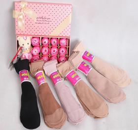 夏季薄款小辣椒丝袜 女式天鹅绒短丝袜