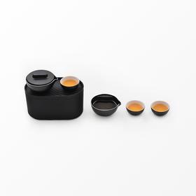 小巨蛋︱城市轻便型茶具(茶盒版) 一壶二两杯功夫茶具便携旅行茶具套装