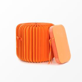 十八纸丨28cm微纸凳(橙黄蓝绿)