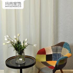 玛尚家饰成品窗帘 现代简约客厅卧室遮光帘落地帘布/弗洛拉