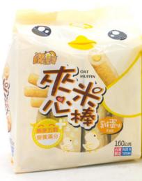 漾漾屋 台湾进口夹心米棒鸡蛋味 160g
