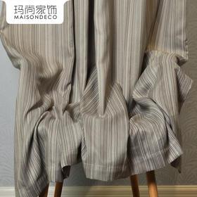 玛尚家饰成品窗帘 现代简约客厅卧室遮光帘落地帘布/达米安