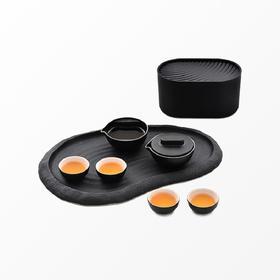 小巨蛋︱城市轻便型茶具(分享版) 一壶二两杯功夫茶具便携旅行茶具套装