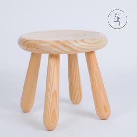 无意家居+拾趣·原木小圆凳(28*26cm)