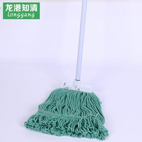 【居家日用】。优质吸水拖把 铁杆棉纱拖把 不掉毛棉线地拖 塑料配件拖把