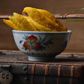 长窑制器 手绘斗彩皮球花纹瓷器小碗 景德镇手工仿古陶瓷碗