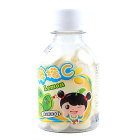 台湾进口 童系柠檬味压片糖 100g /瓶
