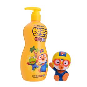 韩国进口啵乐乐沐浴露沐浴液呵护肌肤温和清洁植物成分附带玩具400ml