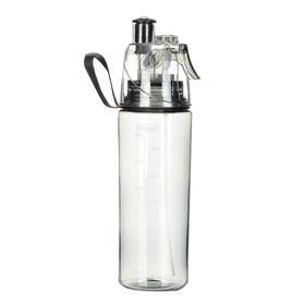 新款创意喷雾水杯塑料杯便携专业运动水杯水壶杯子