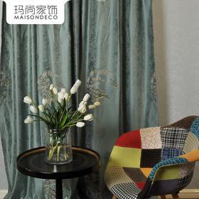 玛尚家饰成品窗帘 现代简约客厅卧室遮光帘落地帘布/乐西
