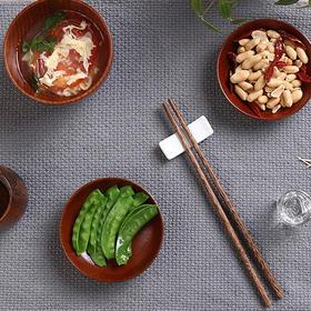 【不发霉的筷子 远离癌症】天然鸡翅实木筷子 无漆无蜡无异味耐高温不发霉 礼盒装10双