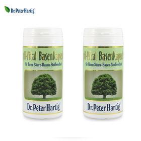 2瓶装 |【备孕 改善亚健康】德国  Dr.Peter Hartig/DPH 酸碱平衡胶囊 60粒